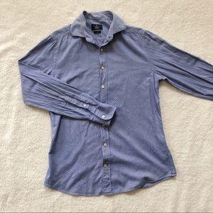 4/$25 - Hackett London dotted slim fit dress shirt
